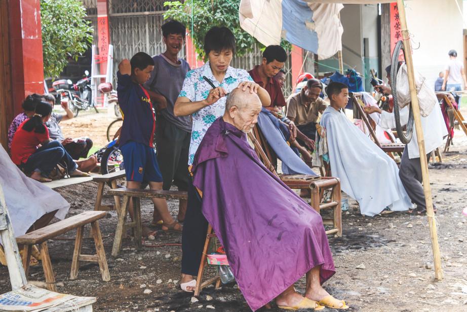Lokale markt Fuli
