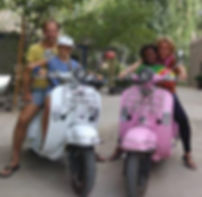 Elektrische scooters in China
