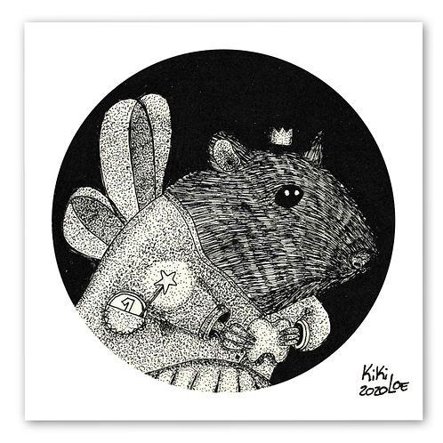 Tooth Fairy, Inktober 2020 #6: Rodent Fairy by KikiLoe