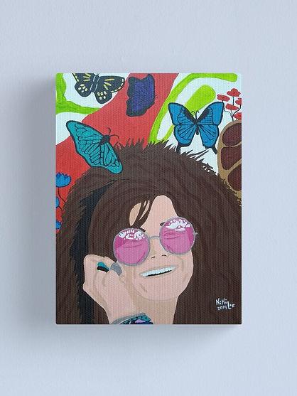 """""""Janis Joplin"""" by: KikiLoe - Kirsten Loewenthal"""