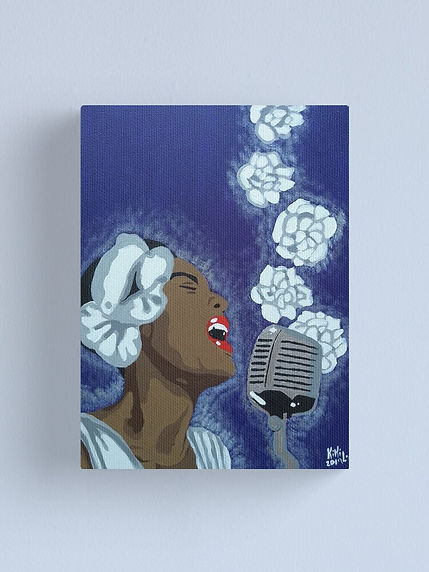 """Billie Holiday"" by: KikiLoe - Kirsten Loewenthal"