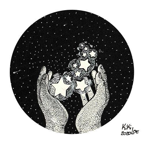 A wisp of stars by KikiLoe, Inktober 2020 #2: Wisp