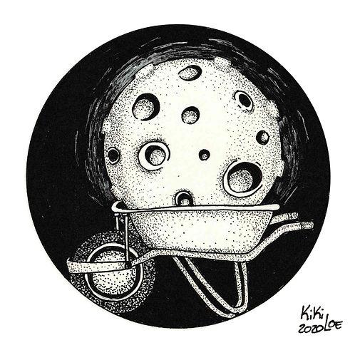 Carry the moon, Inktober 2020 #3: Bulky by KikiLoe