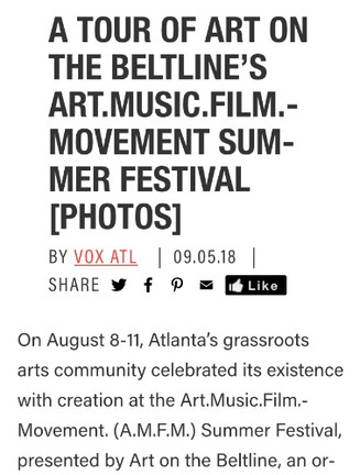 A TOUR OF ART ON THE BELTLINE'S ART.MUSIC.FILM.MOVEMENT SUMMER FESTIVAL [PHOTOS