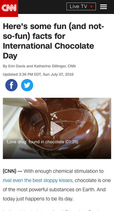 Here's some fun (and not-so-fun) facts for International Chocolate Day