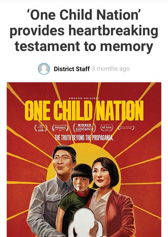 'One Child Nation' provides heartbreaking testament to memory