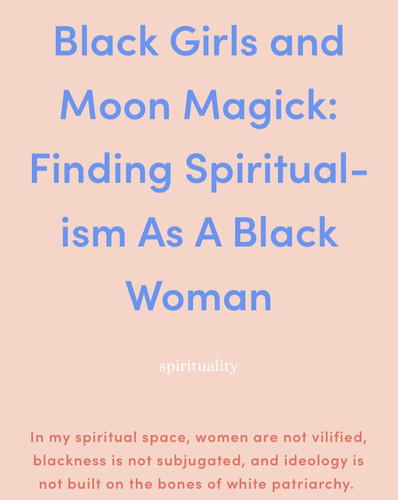 Black Girls and Moon Magick