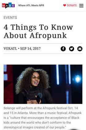 4 Things To Know About Afropunk
