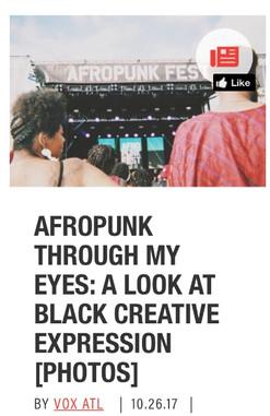 Afropunk Through My Eyes: A Look At Black Creative Expression