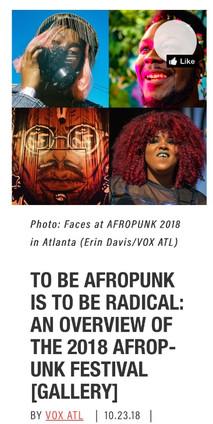 VOX ATL: An Overview Of The 2018 Afropunk Festival