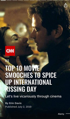 Top 10 Movie Smooches To Spice Up International Kissing Day