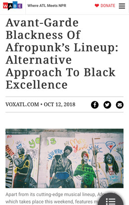 Avant-Garde Blackness Of Afropunk's Lineup: Alternative Approach To Black Excellence