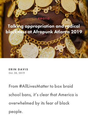 Talking appropriation and radical blackness at Afropunk Atlanta 2019