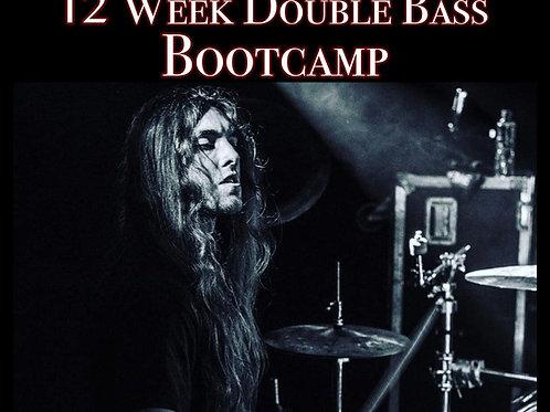 12 Week Double Bass Bootcamp - Chris Dovas