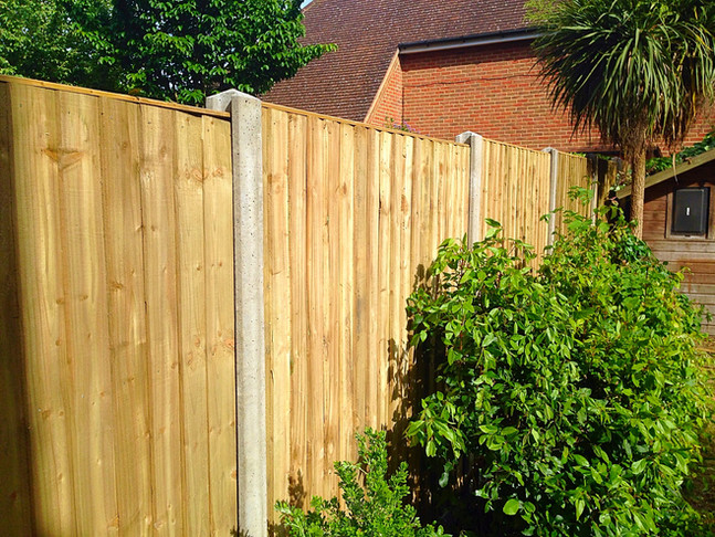 A fence we installed in Dartford.