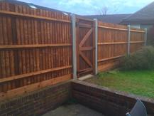 Strong, straight fencing installed in Barnehurst!