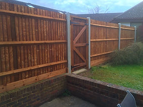 Fencing and gates in Bexley.