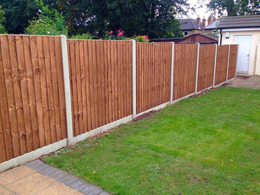 5ft 6in Closeboard fencing installed in Bexleyheath.