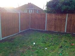 Garden Fencing.