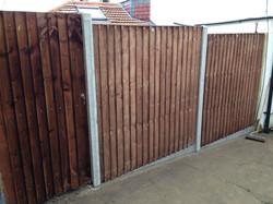 Closeboard fencing in Bromley BR1