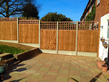 Fencing installed in Sidcup.
