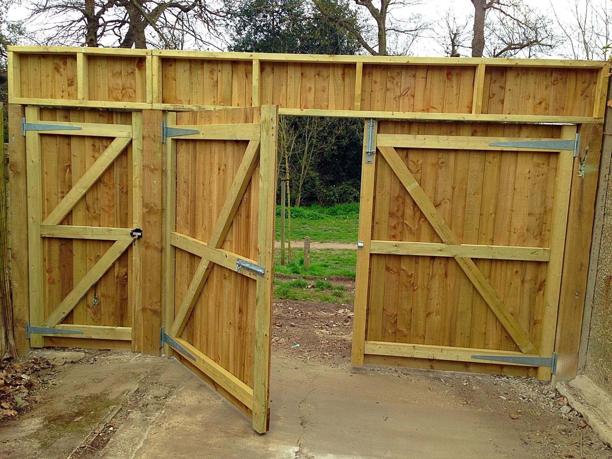 Bespoke Double Gates in Bexley.