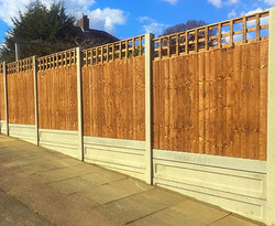 Cheap fencing solution.