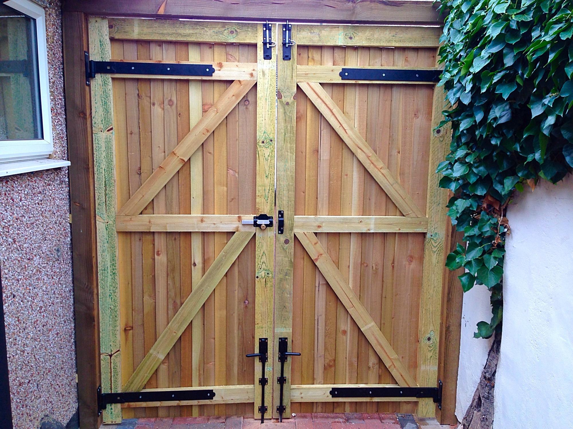 fencing gates.