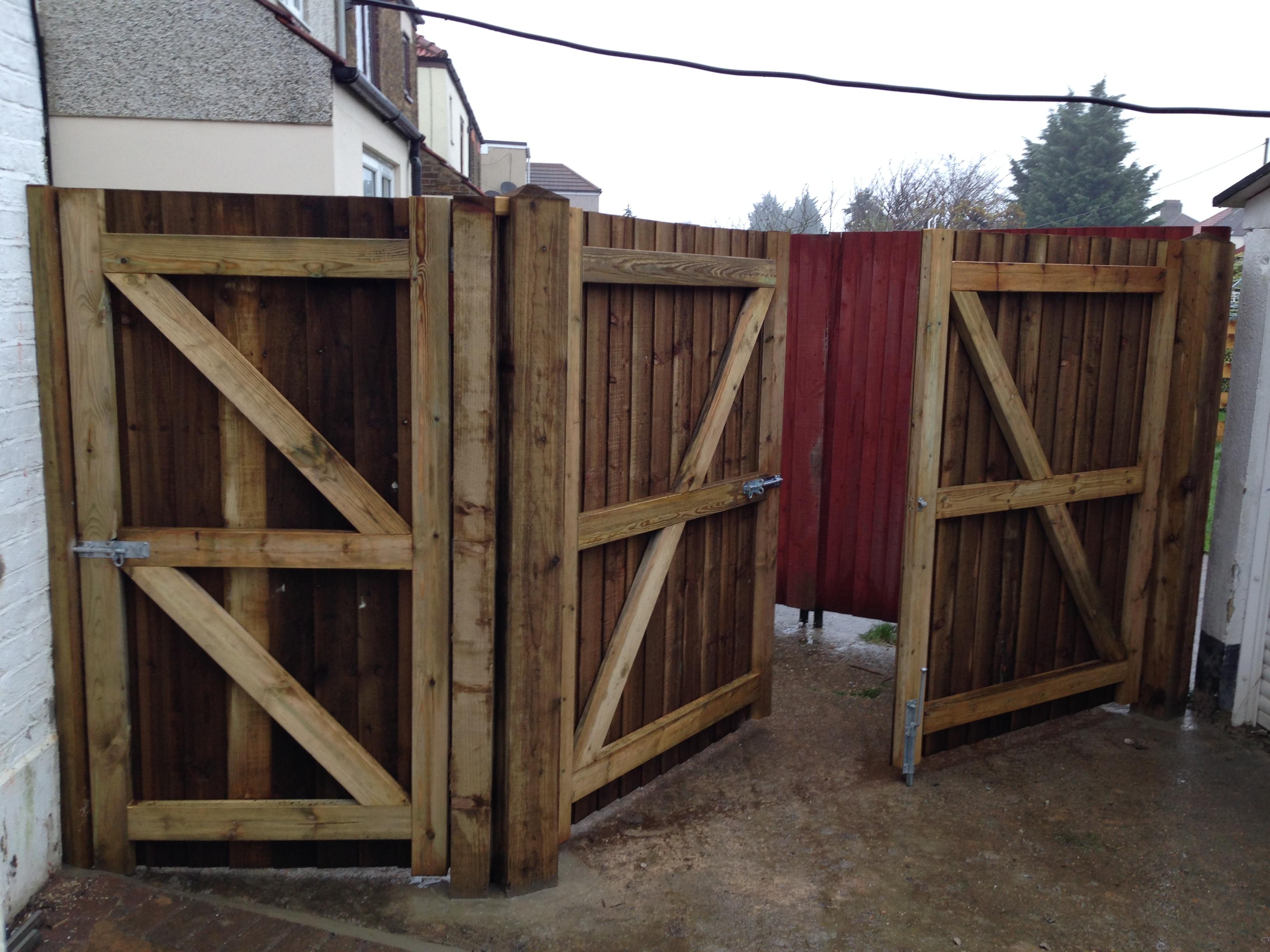 Bespoke Wooden gates.