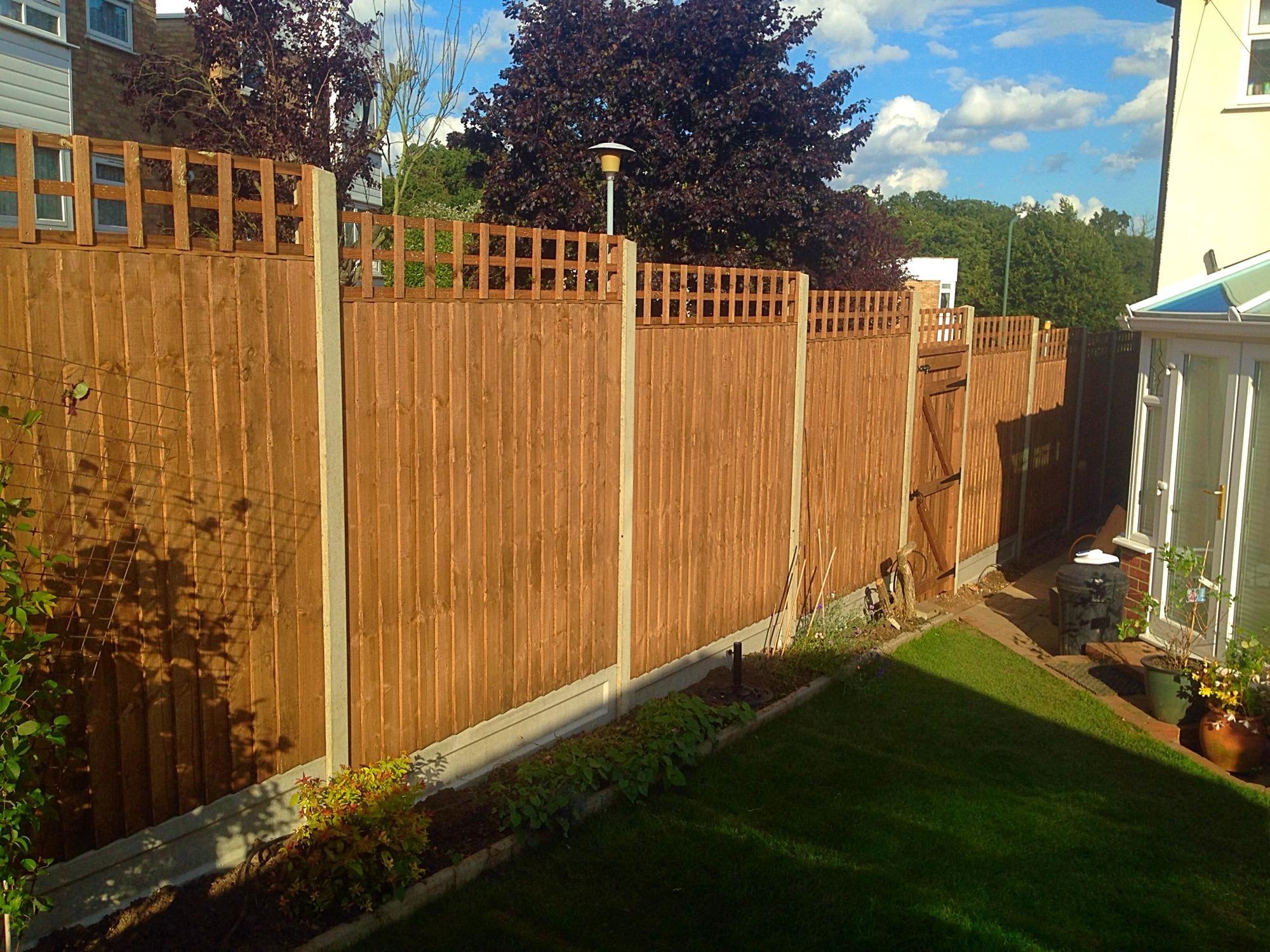 beautiful garden fencing Bexleyheath