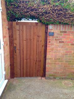 Closeboard Garden Gate