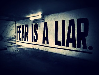 Feelin' the FEAR, snatching it anyway….