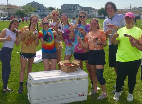 We are serving up 1,800 Ice Cream Sandwiches