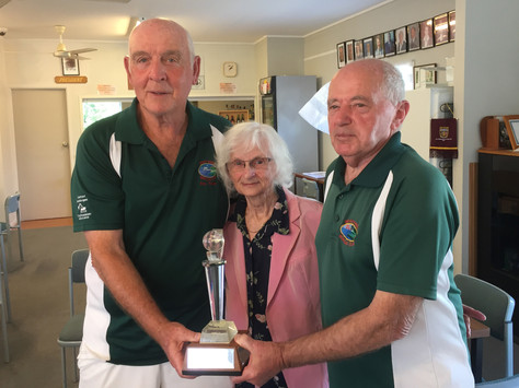 Baker-Eady Trophy Played in delightful Conditions.