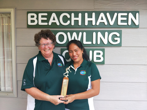 Junior Pairs Championship produces some excellent bowling.