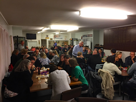It wasn't a Bingo Night but we did have a Full House!