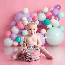cake smash photographer limerick posie p