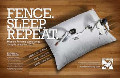 Fence. Sleep. Repeat.