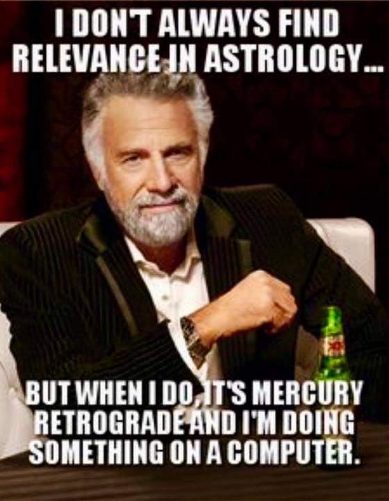 WTF is Mercury in Retrograde?