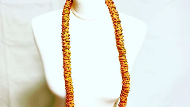orange large worm
