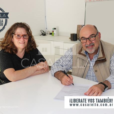 ¡Una nueva familia tendrá su Casarella en Villa General Belgrano!