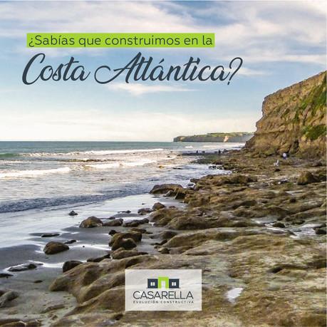 Avanzamos en esta Casarella en Mar Chiquita