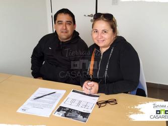 Otra familia cumple su sueño en Tierras de Casarella