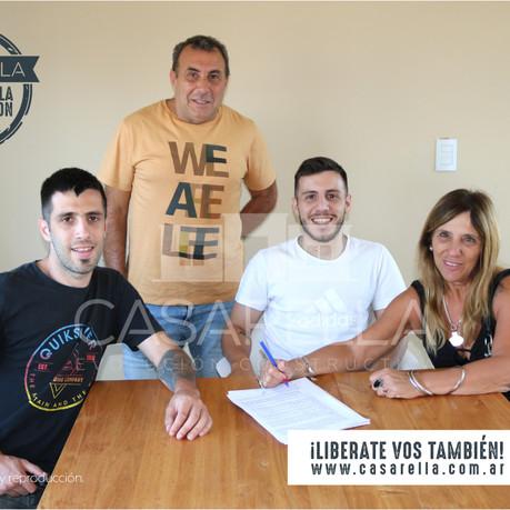 Una nueva familia tendrá su Casarella en Cardales Village!