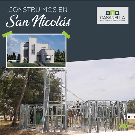 Construimos en San Nicolás