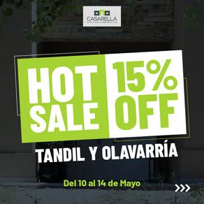 HOT SALE: Tandil y Olavarría 15% OFF