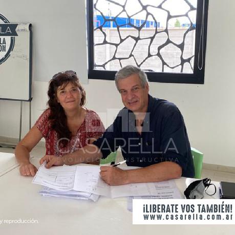 ¡Una nueva familia tendrá su Casarella en Las Lomas de Miramar!
