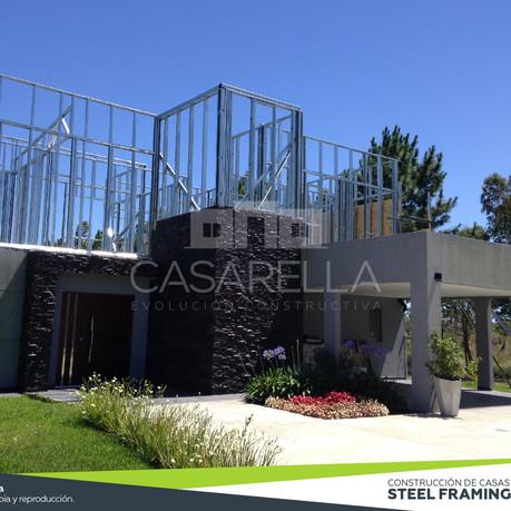 Ampliación y refacciones en Steel Frame