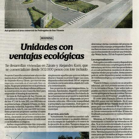 Diario La Nación: Unidades con ventajas económicas