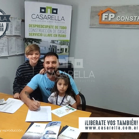 ¡Una nueva familia se suma a Casarella en Bahía Blanca!